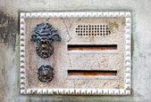 Italian letter-box — Stock Photo