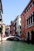 Italian Venice. Bridge — Stock Photo