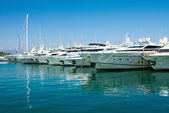 The harbor Antibes, France — Stock Photo