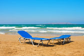 Beach in Greek, the Crete — Stock Photo