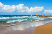 Seascape, Greek, the Crete — Stock Photo