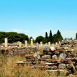 Antiquity greek city- Ephesus — Stock Photo #39844687