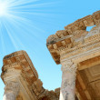 Antiquity greek city- Ephesus — Stock Photo #39844695