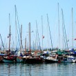 Yachts on mooring — Stock Photo #39844769