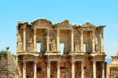 Antiquity greek city- Ephesus — Stock Photo