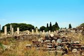 Antiquity greek city- Ephesus — 图库照片