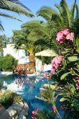 Pool in hotel — Foto de Stock