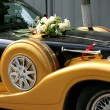 Wedding motor-car — Stock Photo #40446097