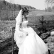 Young bride — Stock fotografie #40446817