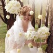 Foto Stock: Young bride