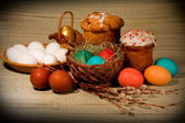 Easter Photo in retro style — Стоковое фото