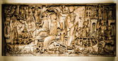 Vatican, a sculpture - bas-relief — Stock Photo