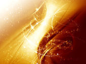 Abstract golden background for design — Stockfoto