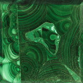 Texture of gem Malachite — Stock Photo