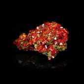Red crystal Garnet — Stock Photo