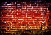 Old wall of brick — Stock Photo