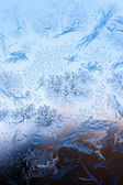 Frosty winter pattern — Stock Photo