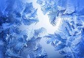 Frosty winter pattern — Foto de Stock