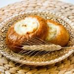 Fresh baked curd tart — Stock Photo #51085159
