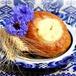 Fresh baked curd tart — Stock Photo #51085185
