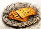 Fresh baked  fruit pie — Stockfoto