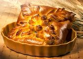 Vers gebakken traditionele brood — Stockfoto