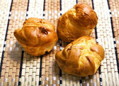 Fresh baked pastry buns — Stockfoto