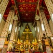 Buddha in the Chapel at Wat Arun — Stockfoto