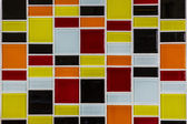 Glass mosaic in the kitchen — Foto Stock