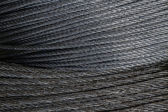 Wire rope. — Stock Photo