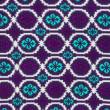 Detail of colorful background textile. — Stock Photo