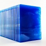 Blu Ray disc boxes. — Stock Photo