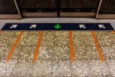 MRT station. — Stock Photo