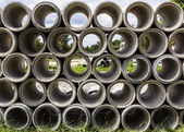 Drain pipes — Stock Photo