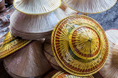 Bamboo hats craft. — Stockfoto