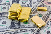 Gold bar. — Stock Photo