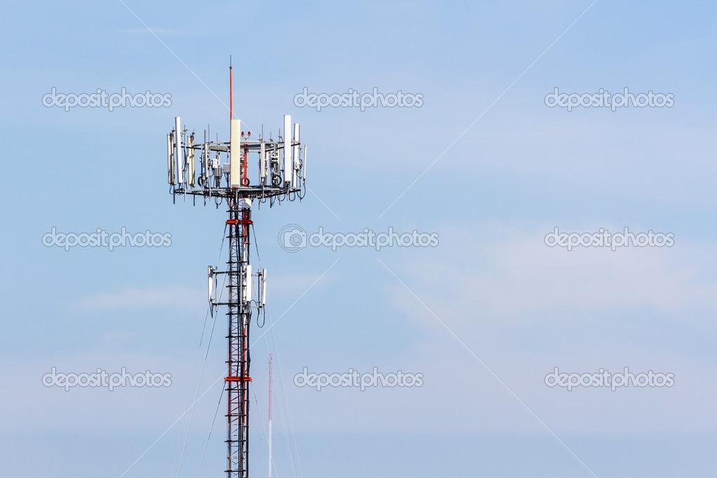 手机电信无线电天线塔