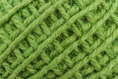 Green yarn. — Stock Photo