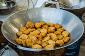 Fried fish cakes (Tod Mun Pla). — Stock Photo
