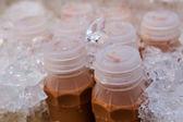 Bottle of ice tea. — Stock Photo
