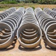 Stock Photo: Cement pipes or Concrete pipe