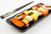 Sushi,Japanese sushi traditional food. — Stock Photo