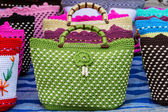 Colorful of vintage handbag. — Stockfoto