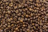 Brown roasted coffee beans. — Zdjęcie stockowe