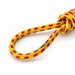 Elastic straps rope with metal hooks. — Stock Photo #47767841