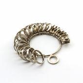 Ring Sizing. — Stock Photo