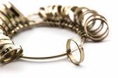 Ring Sizing. — Zdjęcie stockowe