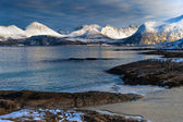 Mountains in the north of Norway. — Stock Photo