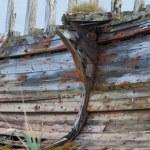 eski ahşap gemi kalıntıları — Stok fotoğraf #34741507