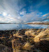 Coast of the Norwegian Sea — Stock Photo
